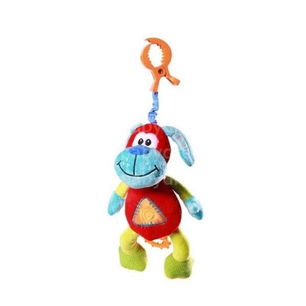 BabyOno Attīstošā velūra rotaļlieta ar vibrāciju, 1141