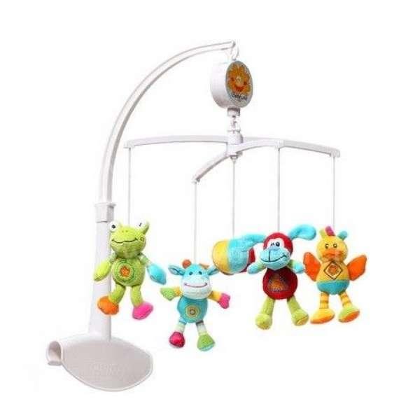 """BabyOno Muzikālais karuselis gultiņai """"Dzīvnieki"""", 1299"""