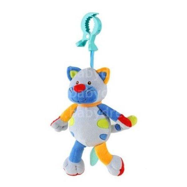 """BabyOno Rotaļlieta ar vibrāciju """"Smejošs kaķītis"""", 1302"""