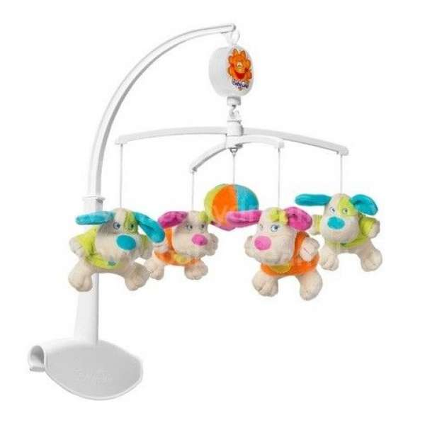"BabyOno Muzikālais karuselis gultiņai ""Suņi"", 1373"