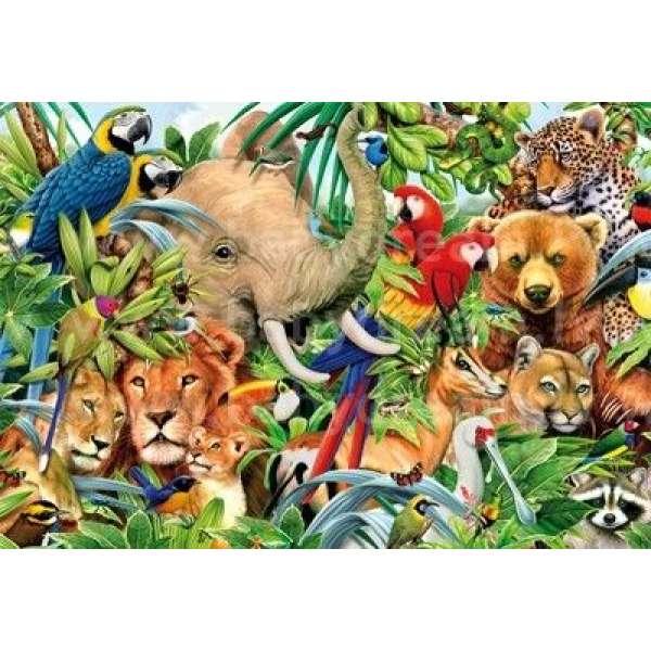 Educa Puzzle Animals 500, ED14804