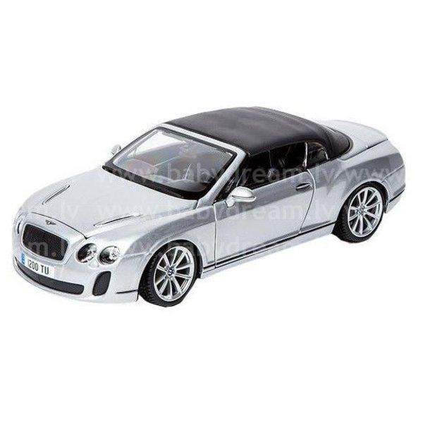 Bburago Automašīna 1:18 Bentley Continental Supersport, 18-11037