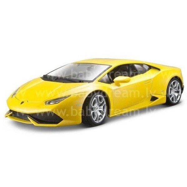 Bburago Automašīna 1:18 Lamborghini Huracan LP 640-4, 18-11038 yellow