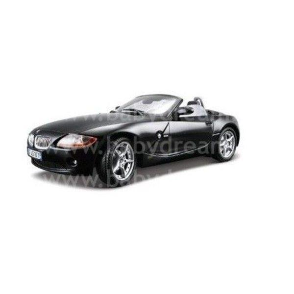 Bburago Automašīna 1:18 BMW Z4 Black, 18-12001 black