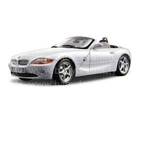 Bburago Automašīna 1:18 BMW Z4 Silver, 18-12001 silver