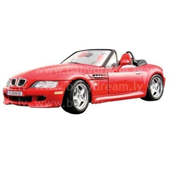 Bburago Automašīna 1:18 BMW M Roadster Red, 18-12028 red