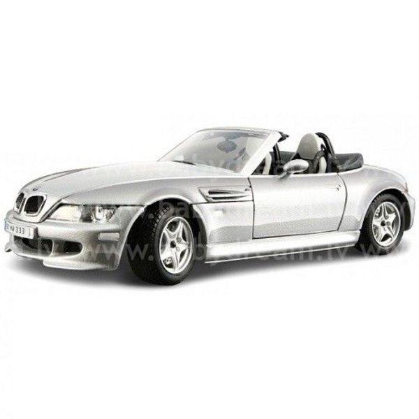 Bburago Automašīna 1:18 BMW M Roadster Silver, 18-12028 silver