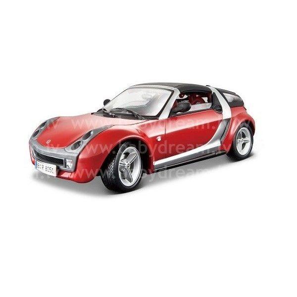 Bburago Automašīna 1:18 Smart Roadster Coupe, 18-12052