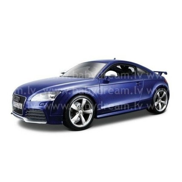 Bburago Automašīna 1:18 Audi TT RS Met.blue, 18-12080 Met.blue