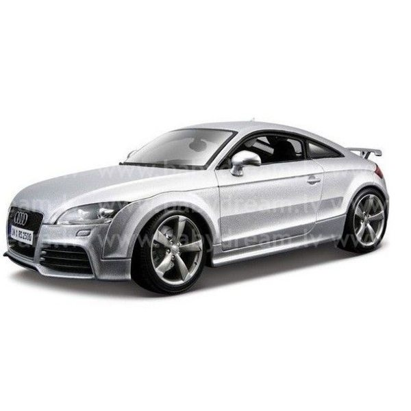 Bburago Automašīna 1:18 Audi TT RS Silver, 18-12080 Silver