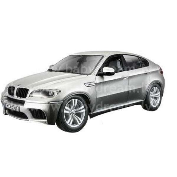 Bburago Automašīna - konstruktors 1:18 BMW X6M, 18-15054