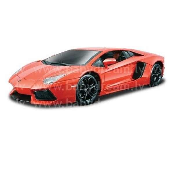 Bburago Automašīna - konstruktors 1:18 Lamborghini Aventador LP 700-4, 18-15056