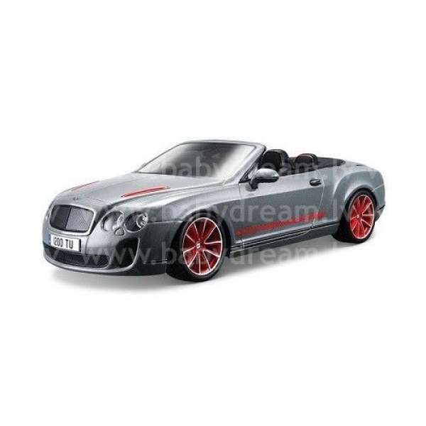Bburago Automašīna - konstruktors 1:18 Bentley Continental Supersport Convrtible ISR, 18-15057