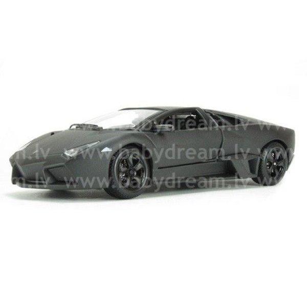 Bburago Automašīna 1:24 Lamborghini Reventon, 18-21041 Black