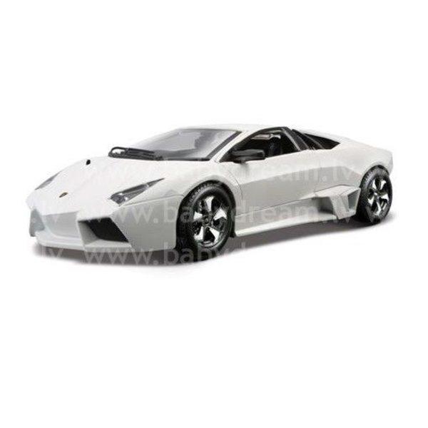 Bburago Automašīna 1:24 Lamborghini Reventon, 18-21041 White