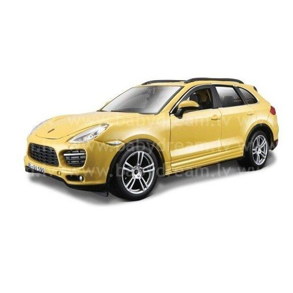Bburago Automašīna 1:24 Porsche Cayenne Turbo, 18-21056 Yellow