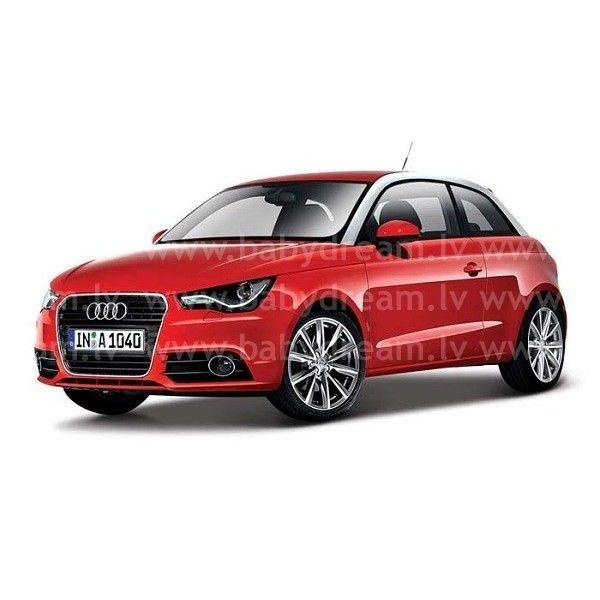 Bburago Automašīna 1:24 Audi A1 Met.red, 18-21058 red