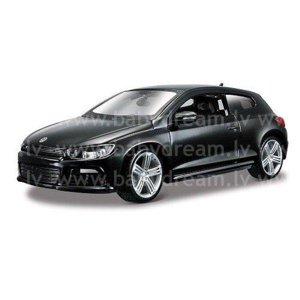 Bburago Automašīna 1:24 VW Scirocco, 18-21060 Black