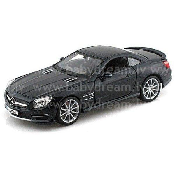 Bburago Automašīna 1:24 Mercedes Benz SL 65 AMG, 18-21066 Black