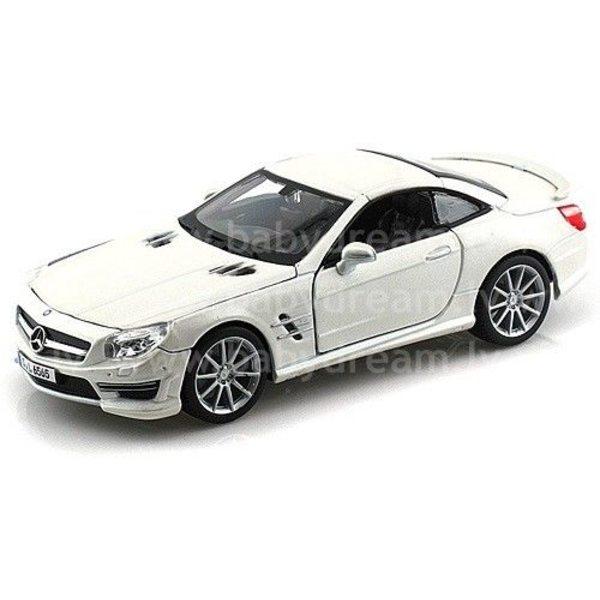 Bburago Automašīna 1:24 Mercedes Benz SL 65 AMG, 18-21066 White