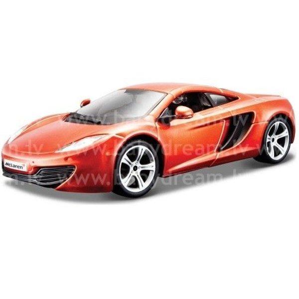 Bburago Automašīna 1:24 McLaren MP4-12C, 18-21074 Orange