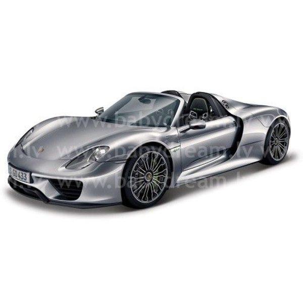 Bburago Automašīna 1:24 Porsche 918 Spyder, 18-21076