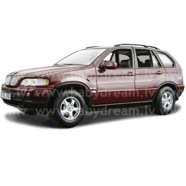 Bburago Automašīna 1:24 BMW X5, 18-22001 Bordo