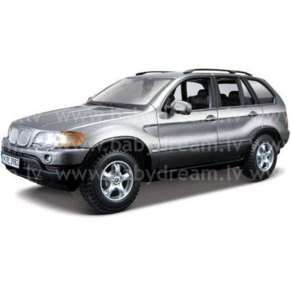 Bburago Automašīna 1:24 BMW X5, 18-22001 Silver