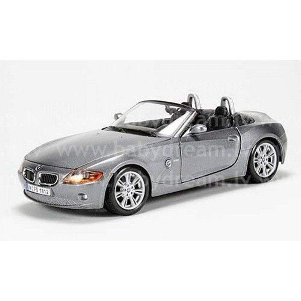 Bburago Automašīna 1:24 BMW Z4, 18-22002 Silver