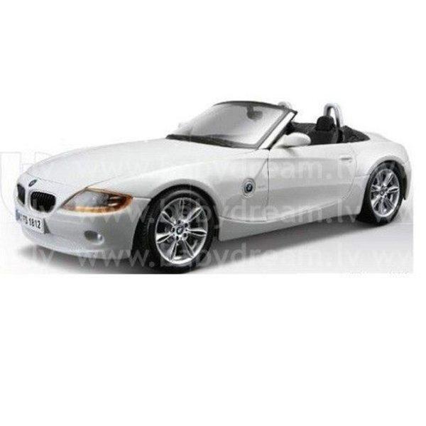 Bburago Automašīna 1:24 BMW Z4, 18-22002 White