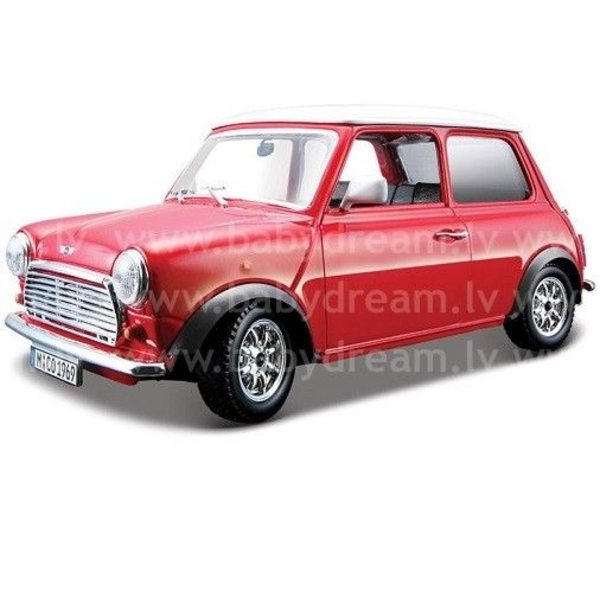 Bburago Automašīna 1:24 Mini Cooper 1969, 18-22011