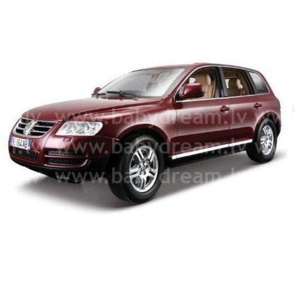 Bburago Automašīna 1:24 VW Touareg, 18-22015 Bordo