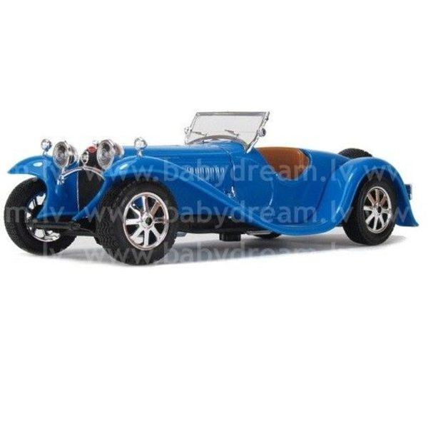 Bburago Automašīna 1:24 Bugatti Type 55, 18-22027 Blue