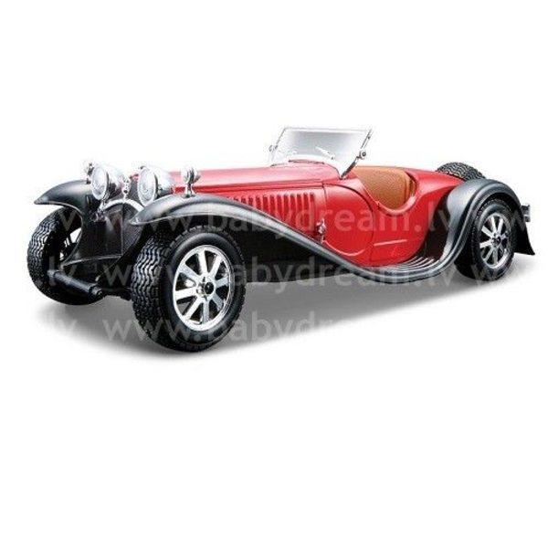 Bburago Automašīna 1:24 Bugatti Type 55, 18-22027 Red