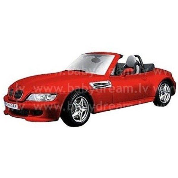 Bburago Automašīna 1:24 BMW M Roadster, 18-22030 Red