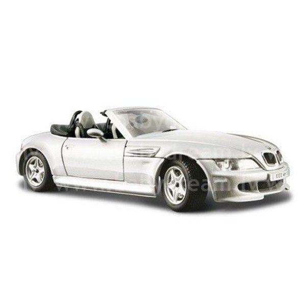 Bburago Automašīna 1:24 BMW M Roadster, 18-22030 Silver