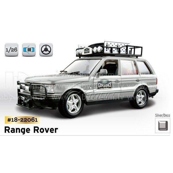 Bburago Automašīna 1:24 Range Rover Safari, 18-22061
