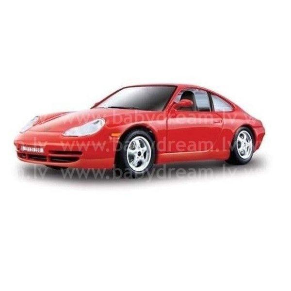Bburago Automašīna 1:24 Porsche 356B Coupe Red 18-22081