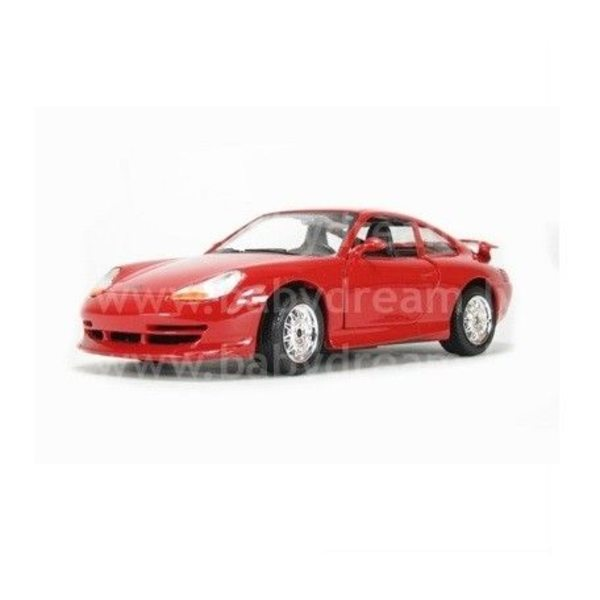 Bburago Automašīna 1:24 Porsche GT3, 18-22084 Red