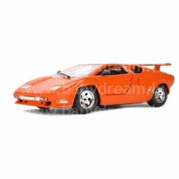 Bburago Automašīna 1:24 Lamborghini Countach, 18-22087 Orange