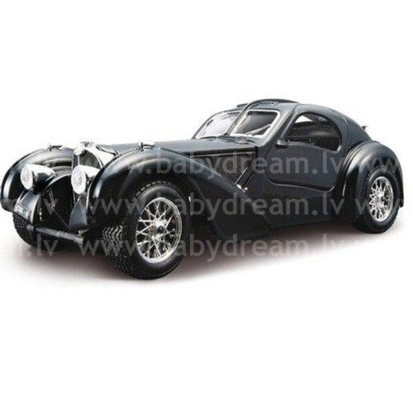 Bburago Automašīna 1:24 Bugatti Atlantic, 18-22092 Black