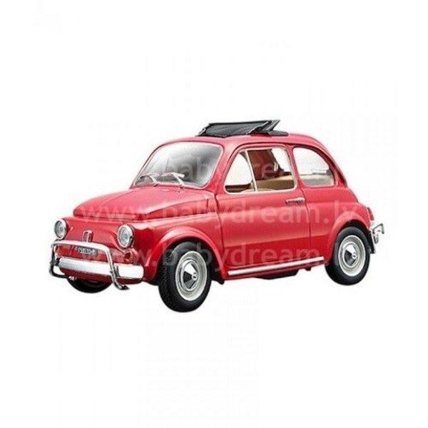 Bburago Automašīna 1:24 Fiat 500 L 1968, 18-22099 Red
