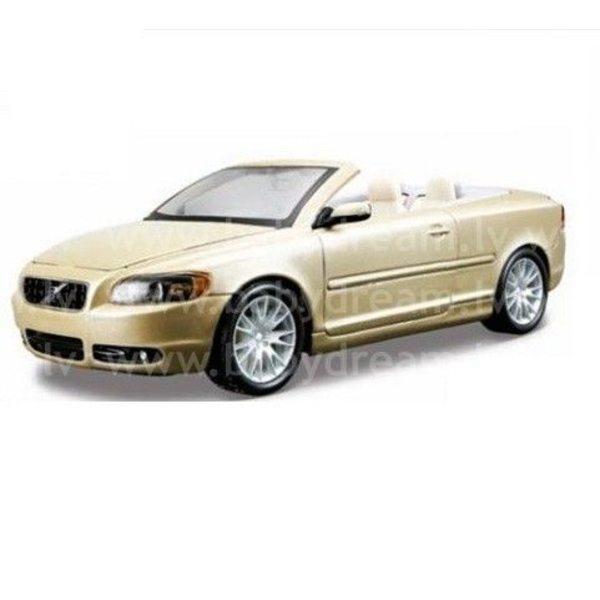 Bburago Automašīna 1:24 Volvo C70 Cabriolet, 18-22101 Met.gold