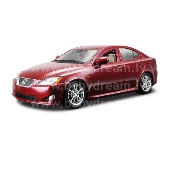 Bburago Automašīna 1:24 Lexus IS 350, 18-22103 Red