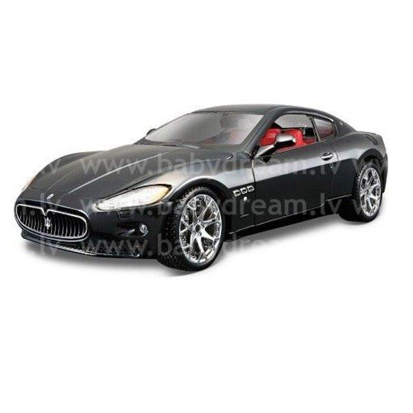 Bburago Automašīna 1:24 Maserati Granturismo, 18-22107 Black