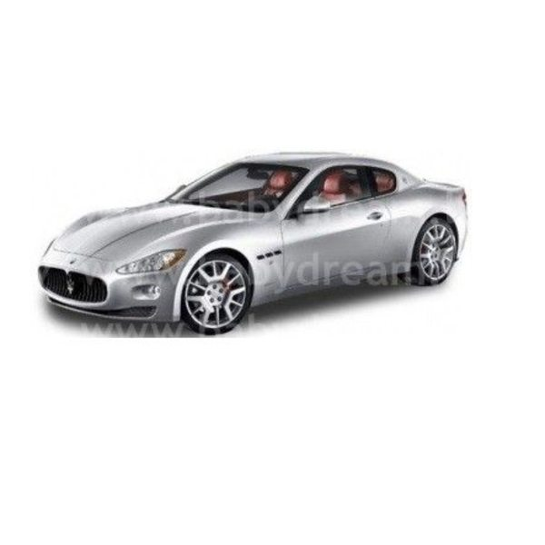 Bburago Automašīna 1:24 Maserati Granturismo, 18-22107 Silver