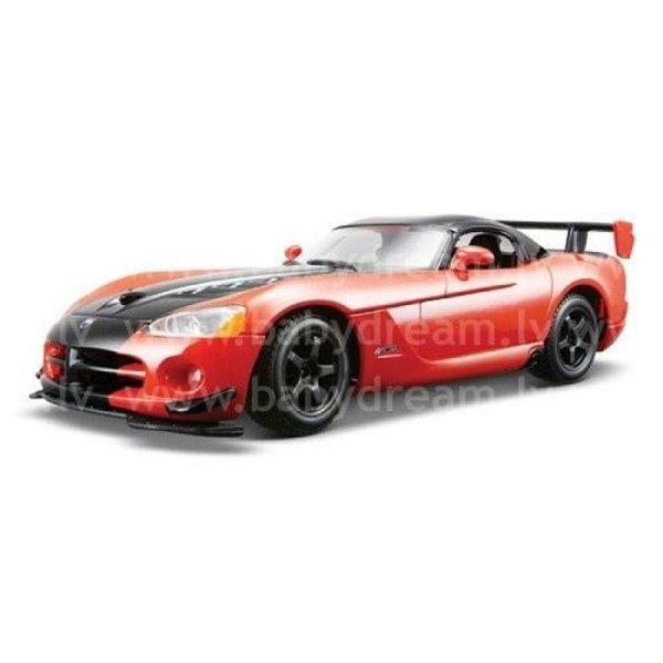 Bburago Automašīna 1:24 Dodge Viper SRT, 18-22114 Red