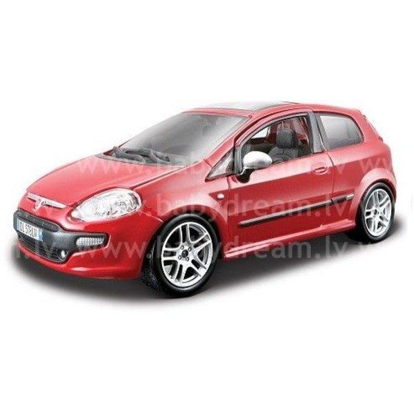 Bburago Automašīna 1:24 Collezione Fiat Punto Evo Red, 18-22118