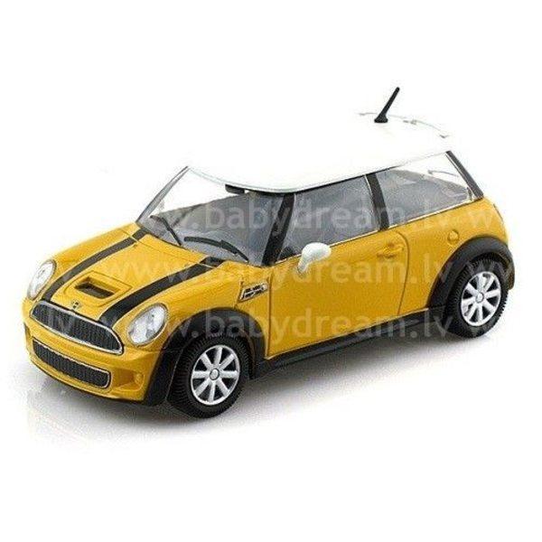 Bburago Automašīna 1:24 Mini Cooper S, 18-22124 Yellow