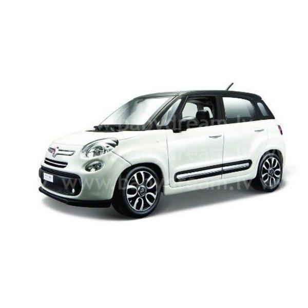 Bburago Automašīna 1:24 Collezione Fiat 500L, 18-22126 White